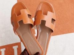 夏季必备 H家平底凉鞋女拖鞋 夏季沙滩鞋 Swift Ck37金棕 38码