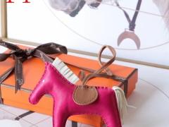 H家新版小马鬃毛系列 中号小号颜色齐全全手缝 天方夜谭紫