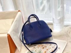 17 Mini Bolide 山羊皮 电光蓝 银扣 手缝蜡线 正品开版