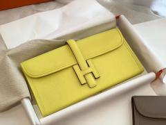 HERMES 29jige 及格手包 epsom皮 9R柠檬黄 黄色是代表希望呀 秒发现货不用等